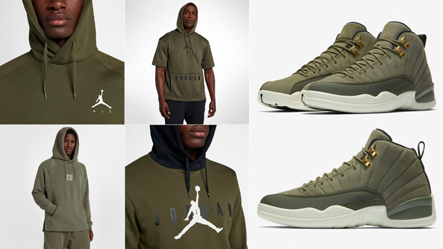 hoodies-to-match-jordan-12-olive-chris-paul