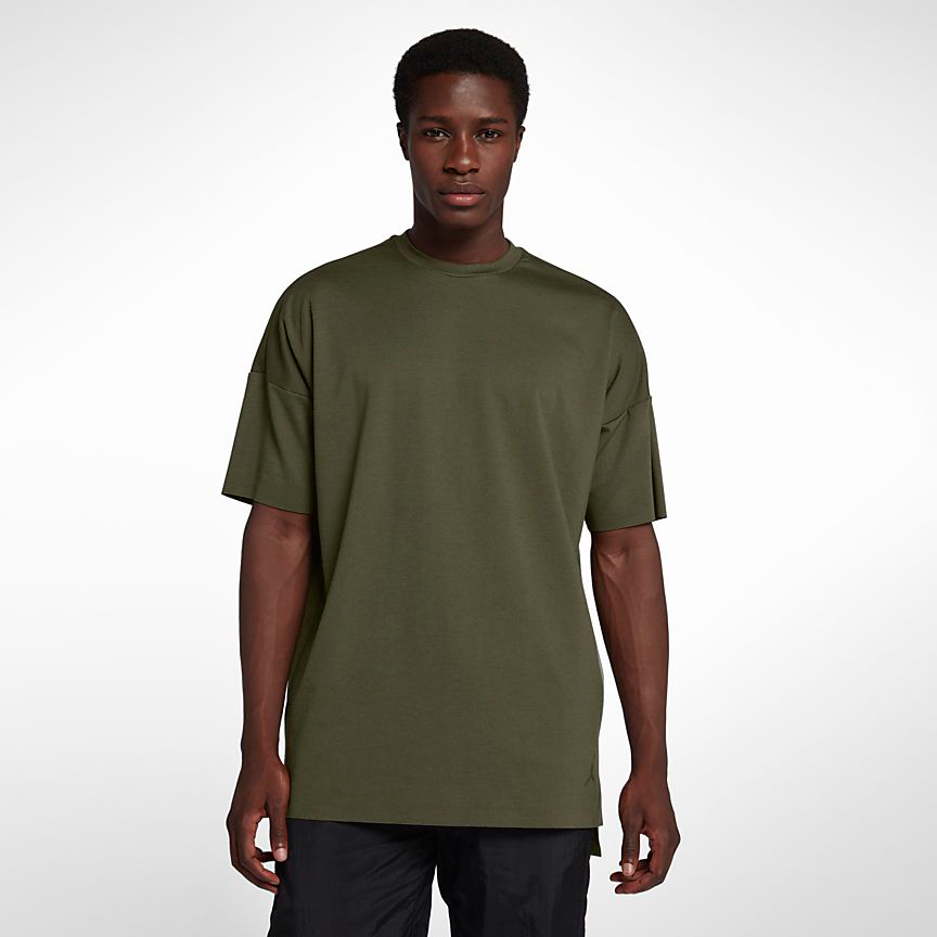 jordan-12-chris-paul-2003-olive-shirt-match-1