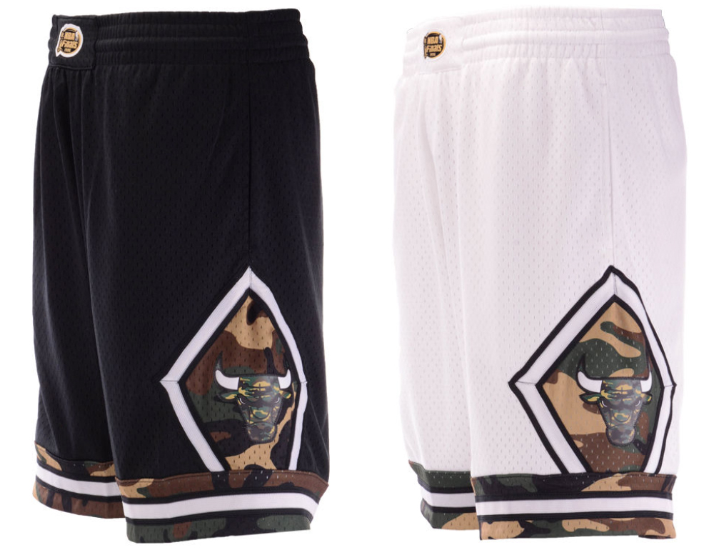 jordan-12-chris-paul-olive-bulls-shorts-match