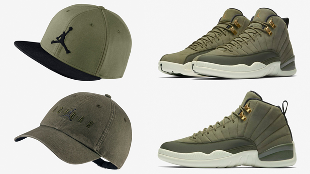 jordan-12-chris-paul-olive-caps