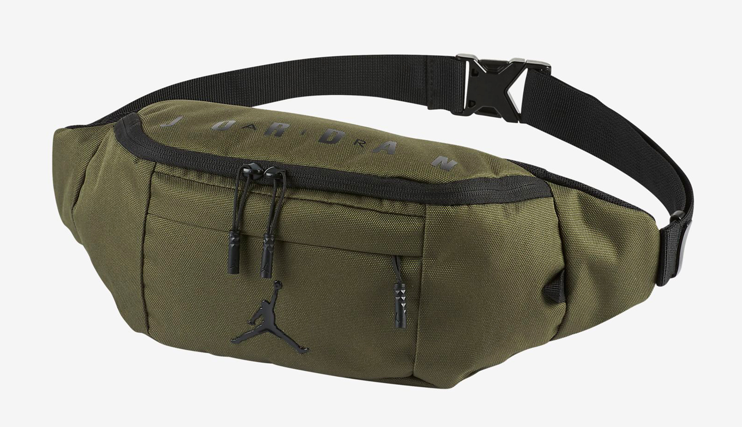 940ed868159058 Jordan 12 Chris Paul Olive Crossbody Bag