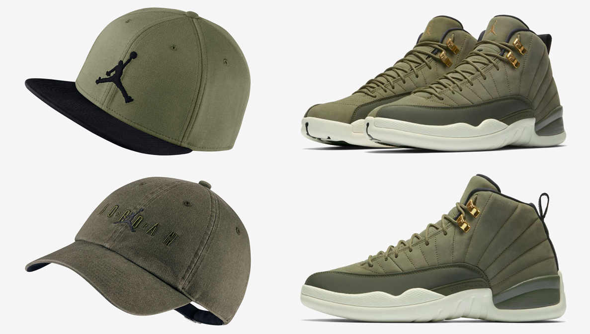 jordan-12-chris-paul-olive-hats