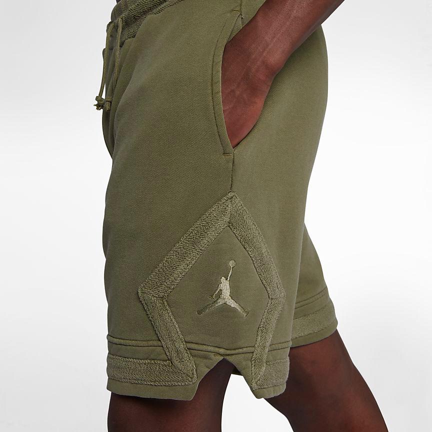 jordan-12-chris-paul-olive-shorts-match-3