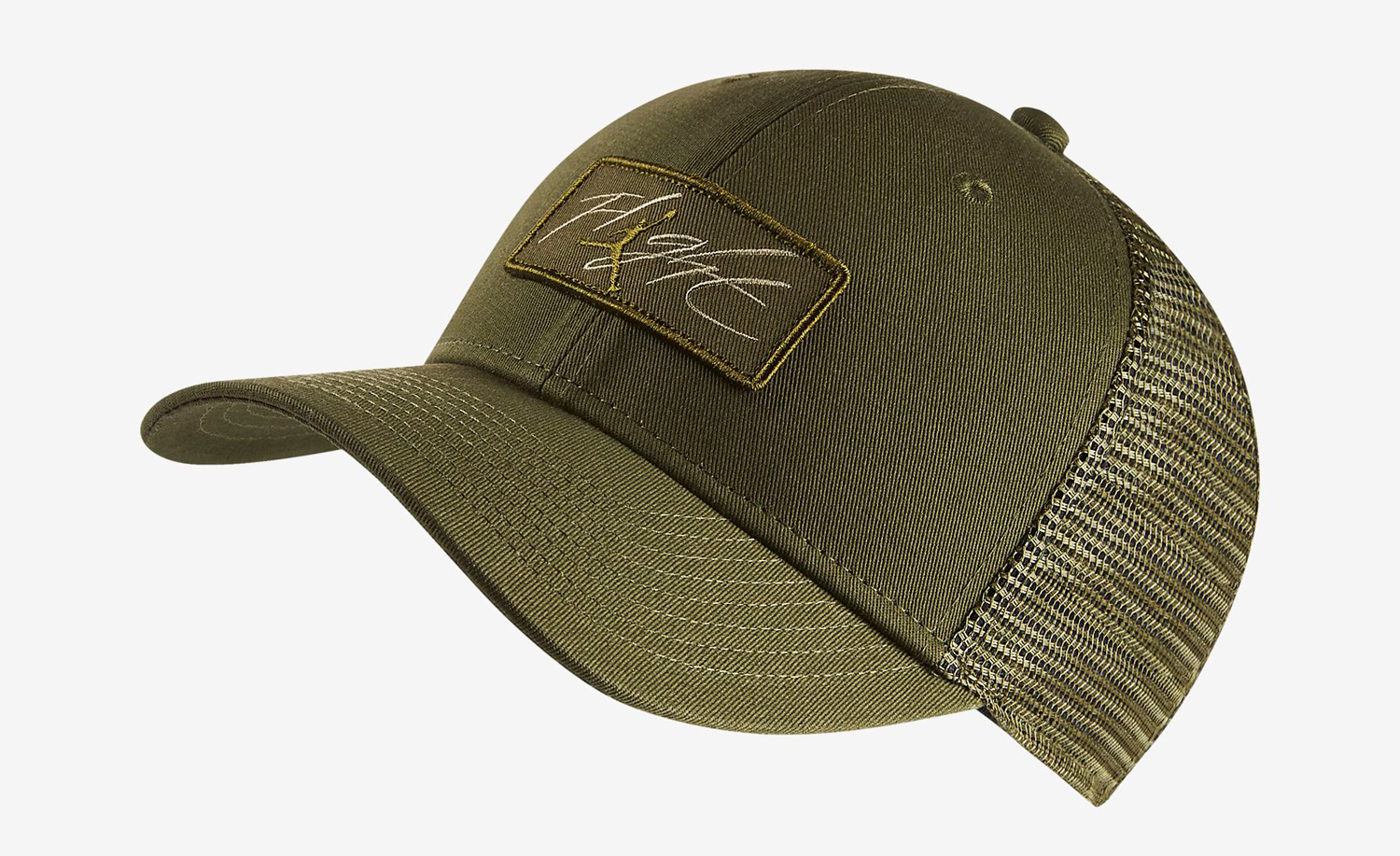 jordan-12-chris-paul-olive-trucker-hat-1