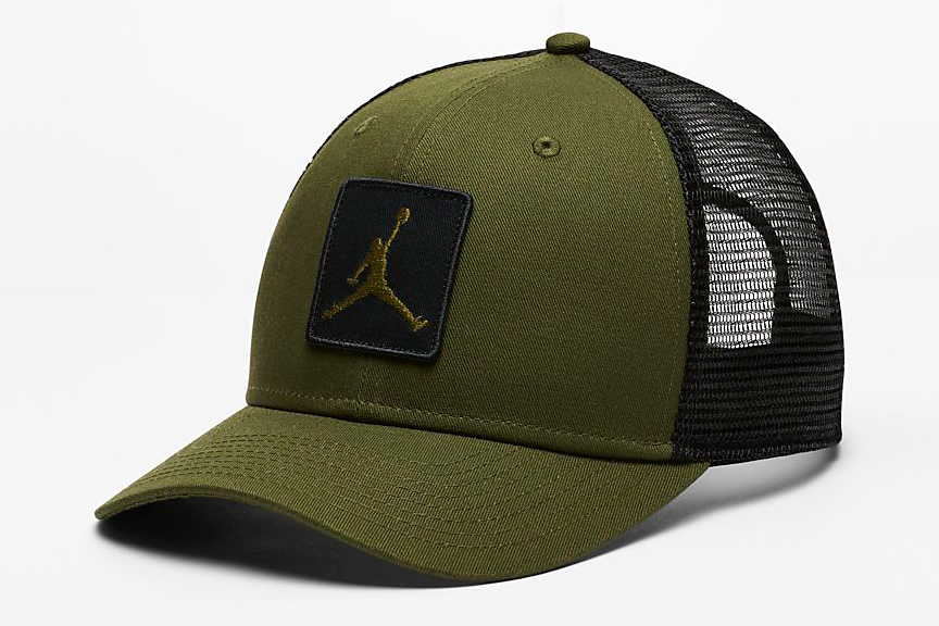 jordan-12-chris-paul-olive-trucker-hat-2