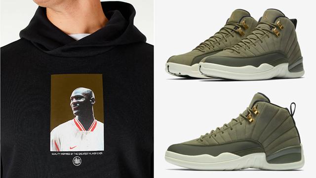 jordan-12-olive-chris-paul-hoodie