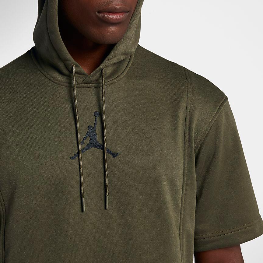 jordan-12-olive-hoodie-match-1