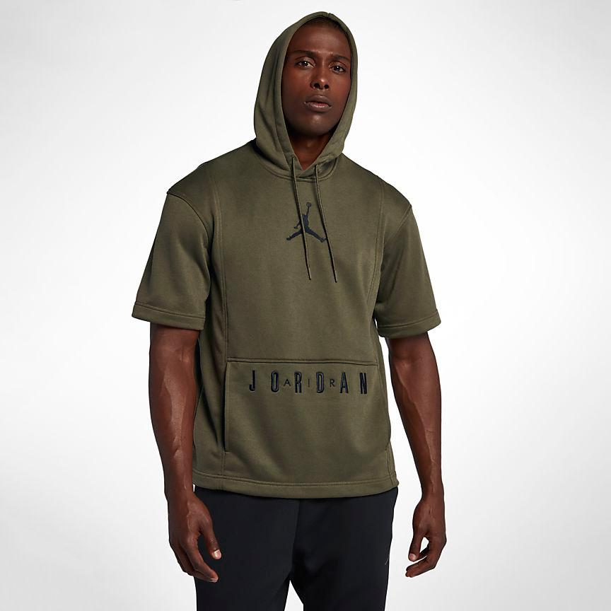 jordan-12-olive-hoodie-match-2
