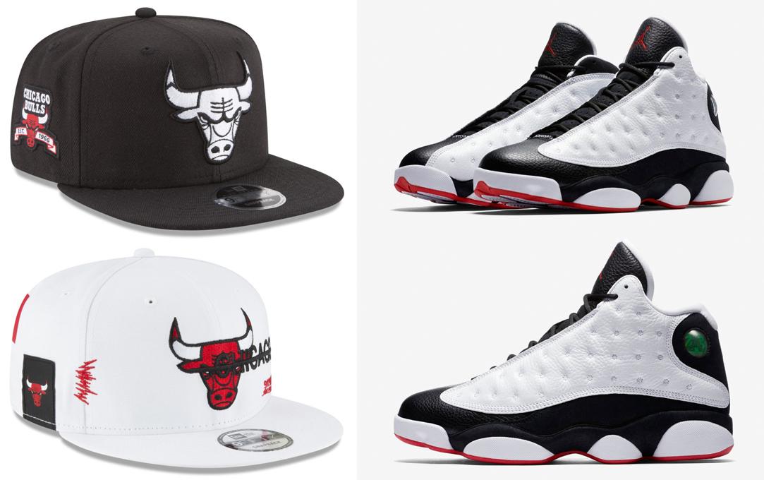 jordan-13-he-got-game-bulls-new-era-snapback-hat-match