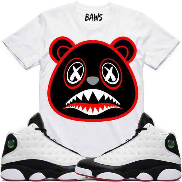 jordan-13-sneaker-shirt-match-baws-clothing