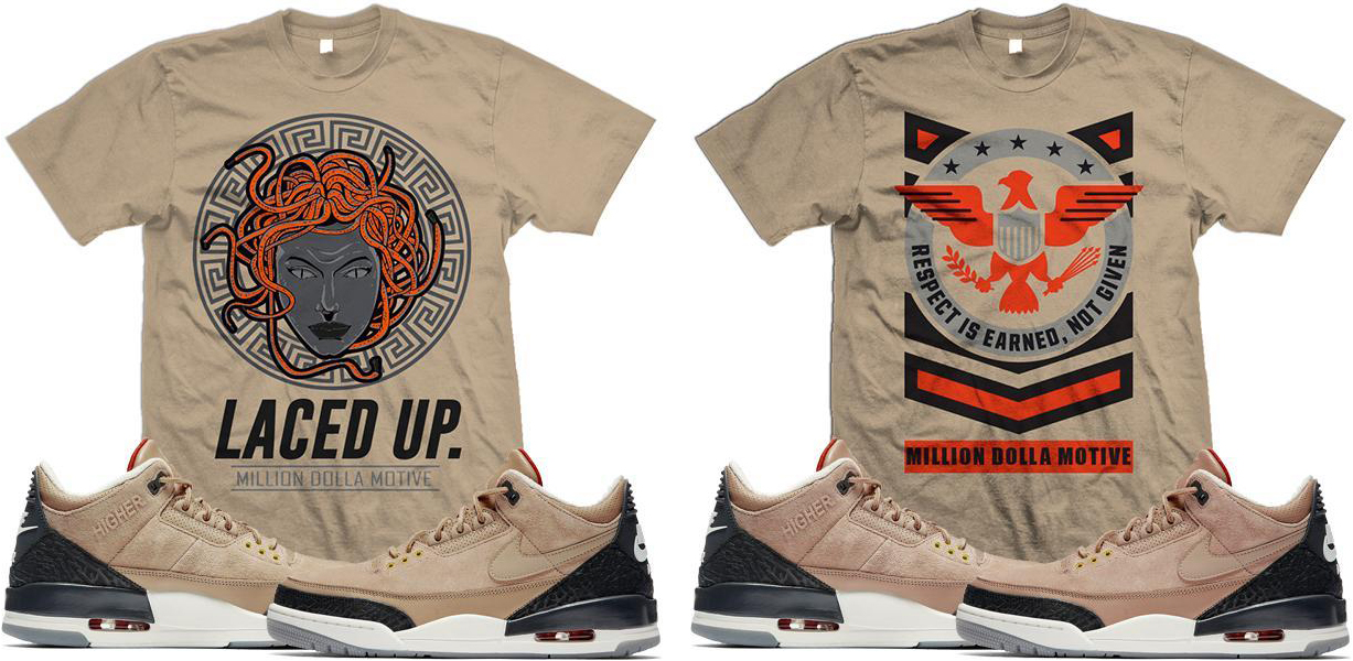 b4be8e178b0af5 jordan-3-jht-bio-beige-sneaker-shirts-million-. With Justin Timberlake and  Tinker Hatfield s ...