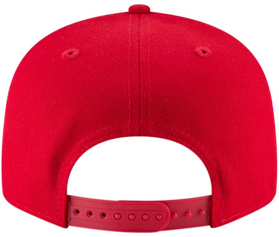 jordan-4-raptors-bulls-snapback-hat-red-2