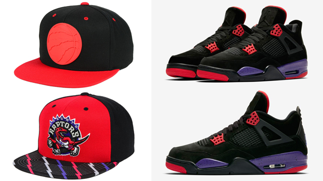 jordan-4-raptors-matching-hat