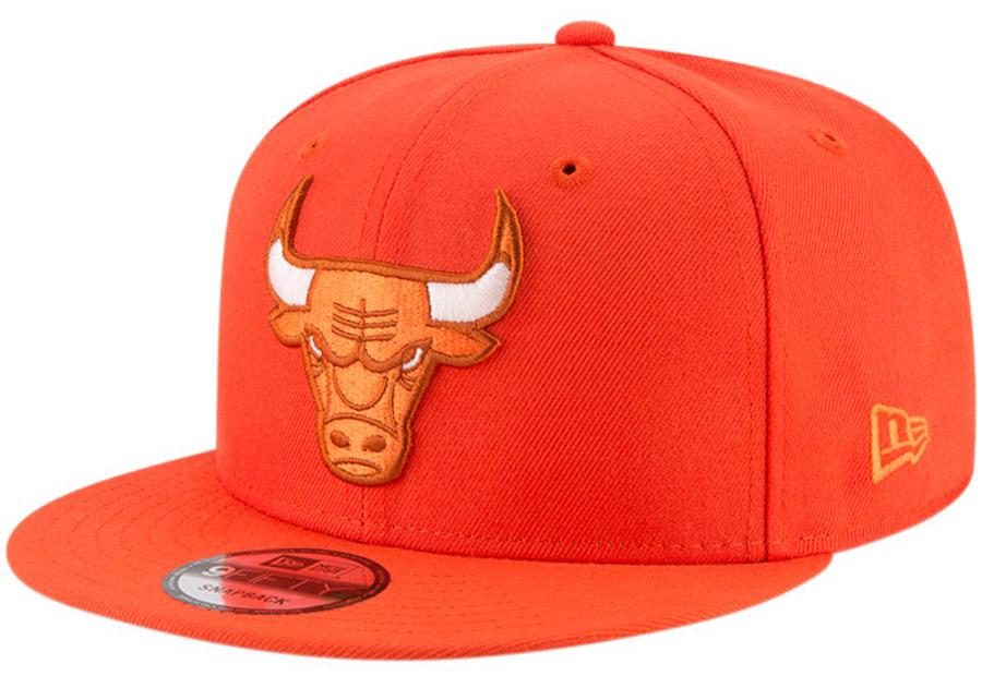 jordan-5-international-flight-bulls-snapback-hat-orange-1