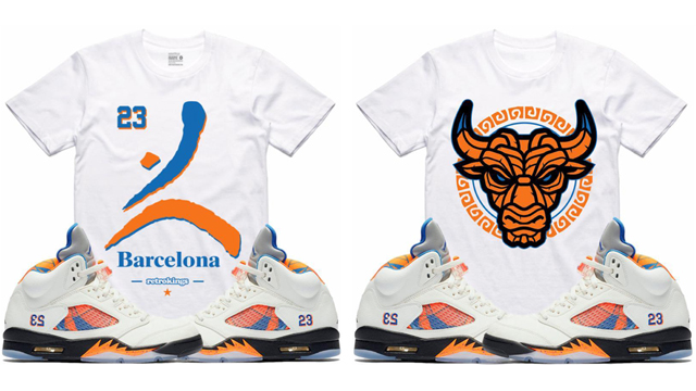 jordan-5-international-flight-sneaker-tee-shirts