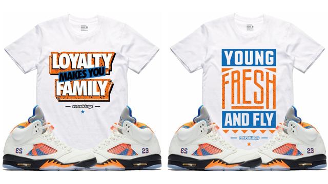 d90540f225b6 Jordan 5 International Flight Sneaker Tees by Retro Kings ...