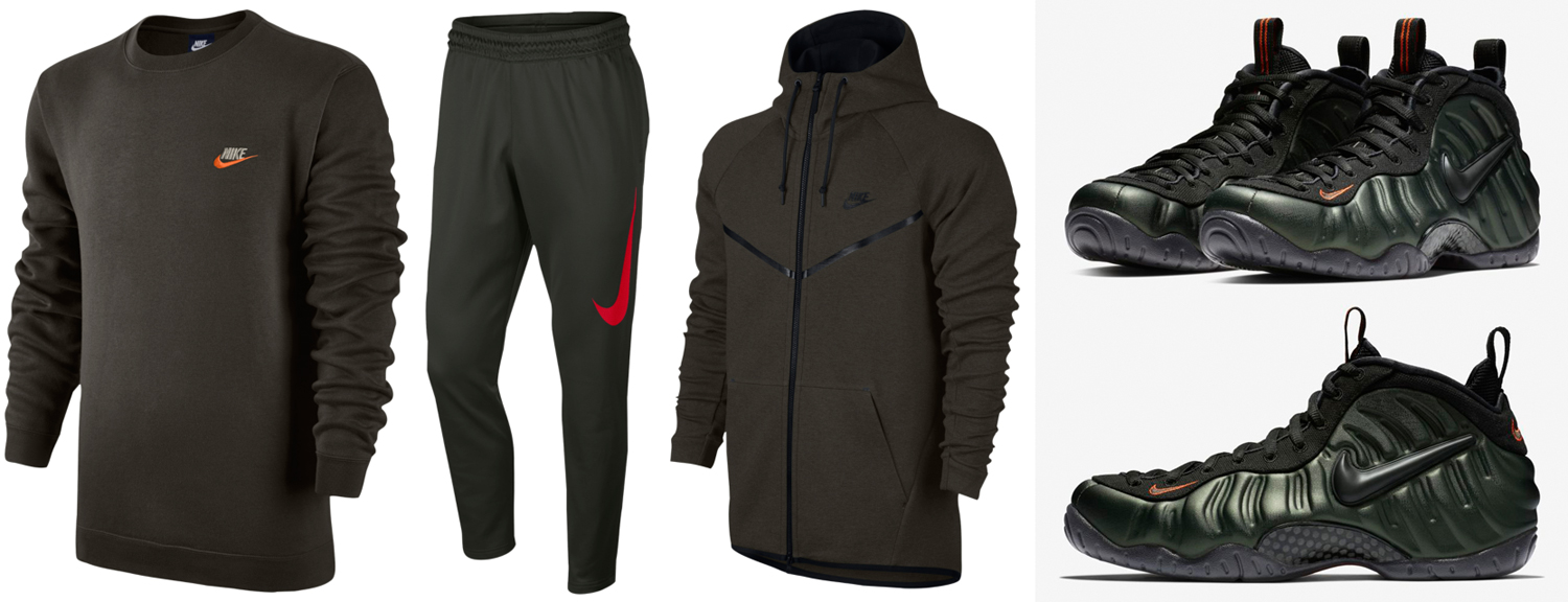 sports shoes 413d7 0b8be Nike Air Foamposite Pro Sequoia Clothing | SneakerFits.com
