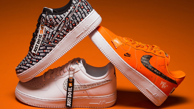 """191db7fd12ed Nike Air Force 1 JDI """"Just Do It"""" Collection"""