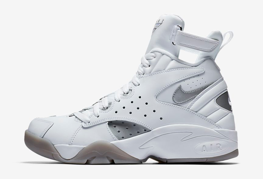 "separation shoes 1f3be 5401a ... Nike Air Maestro II ""White Metallic Silver"" ..."