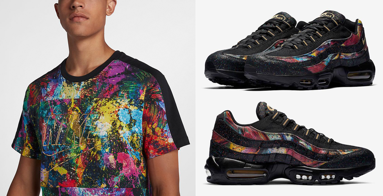 online retailer best prices authorized site Nike Air Max 95 Caribana Shirt Match | SneakerFits.com