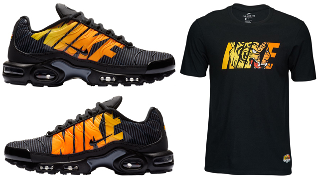watch 45d11 1e373 Nike Air Max Plus Mercurial Tiger Shirt Match | SneakerFits.com