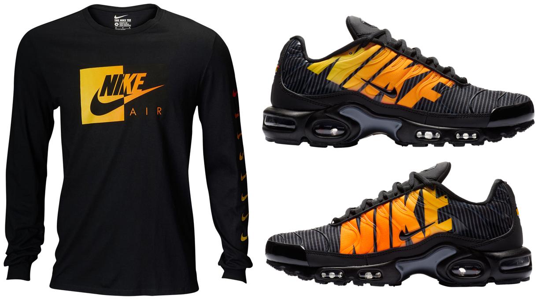 """8522f74c0e Nike Air Max Plus TN SE """"Mercurial"""" x Nike Air Long Sleeve T-Shirt to Match"""