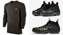 nike-foamposite-pro-sequoia-apparel-match