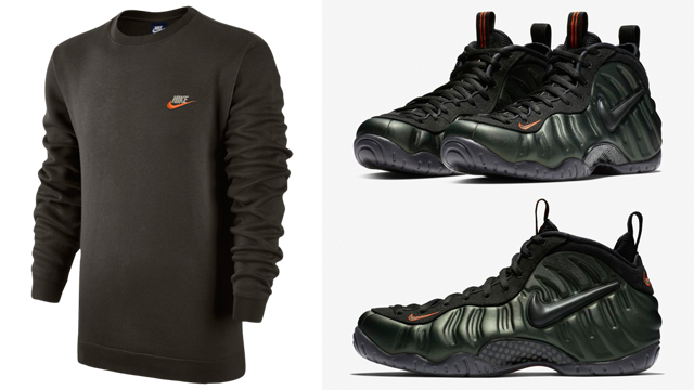 nike-foamposite-pro-sequoia-apparel-match
