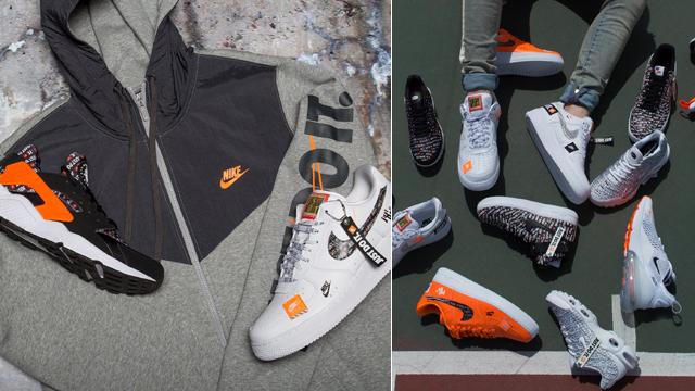 """ed860ed81d Nike JDI """"Just Do It"""" Fleece Full-Zip Hoodies x New Nike Sportswear """"Just  Do It"""" Sneakers"""