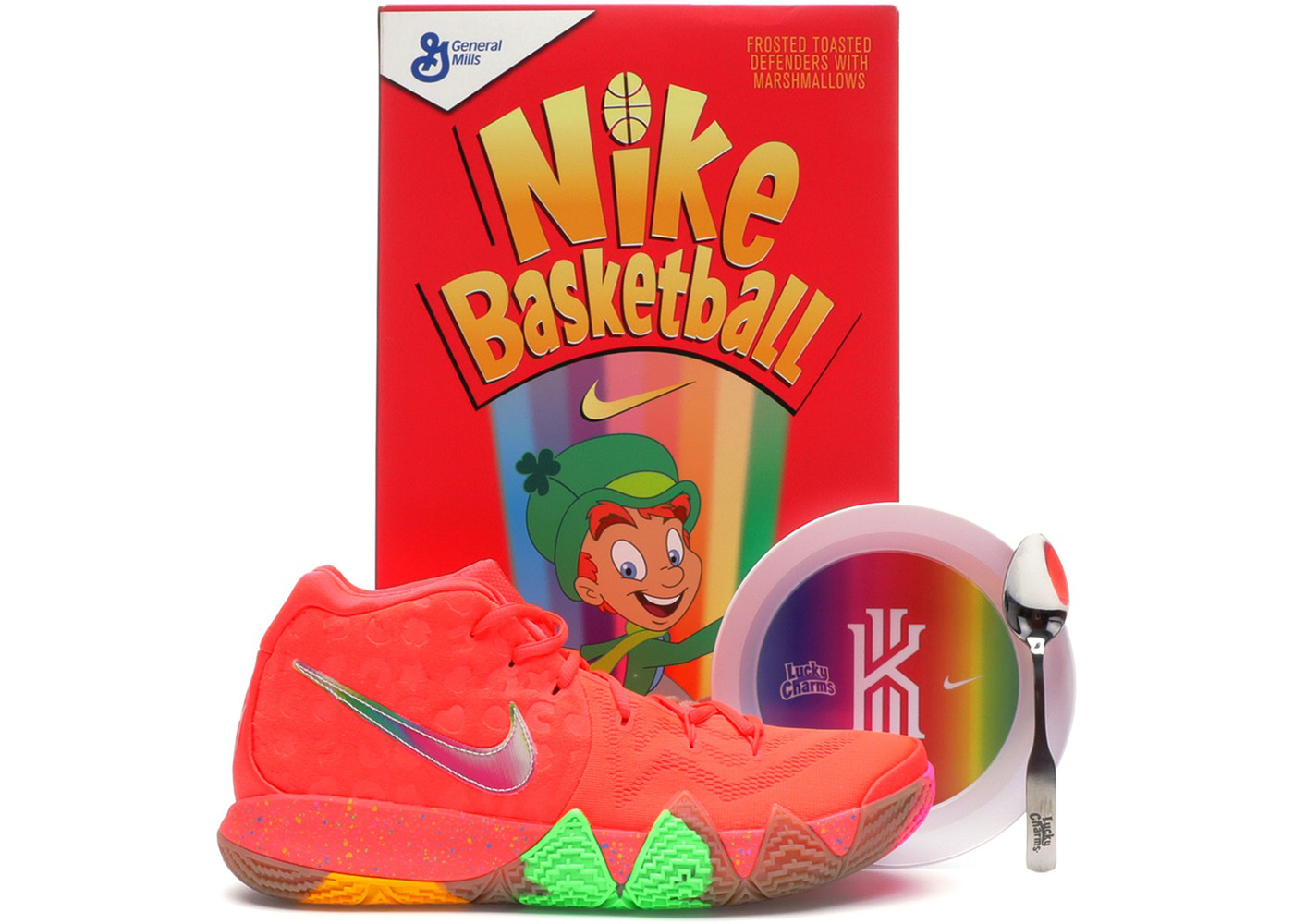competitive price 5d385 b92d7 Nike Kyrie 4 Cereal Pack Shirts | SneakerFits.com
