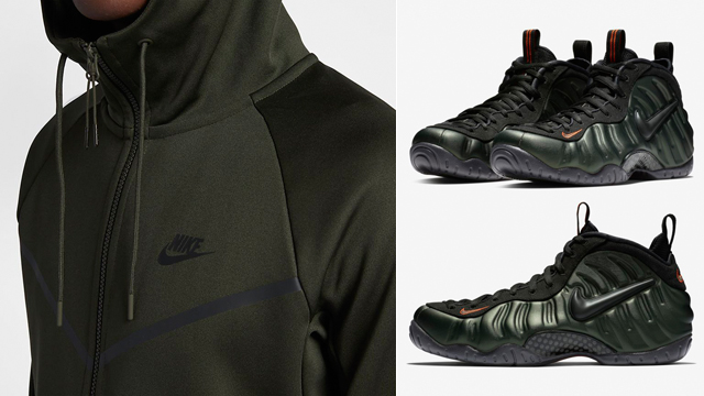 "new style 44015 af2c0 Nike Air Foamposite Pro ""Sequoia"" Clothing"
