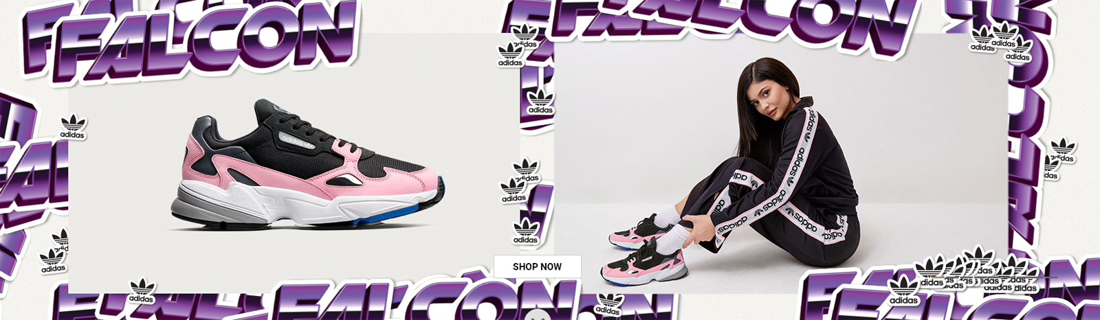 cheap for discount 3beeb 0caff adidas Falcon Womens Worn by Kylie Jenner | SneakerFits.com