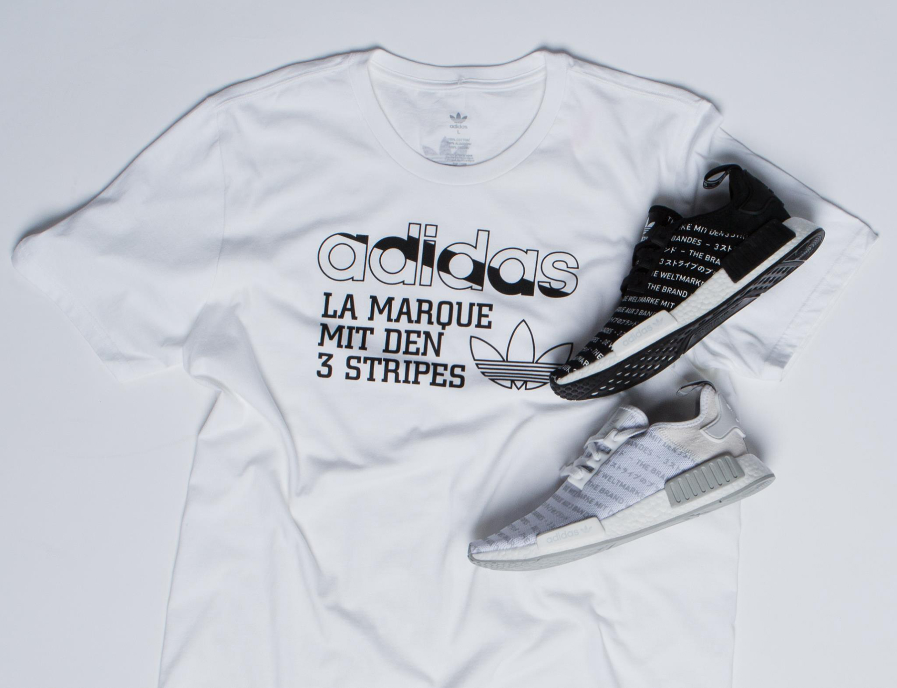 65c8ae0e9 adidas Originals NMD 3 Stripes Shirt Match