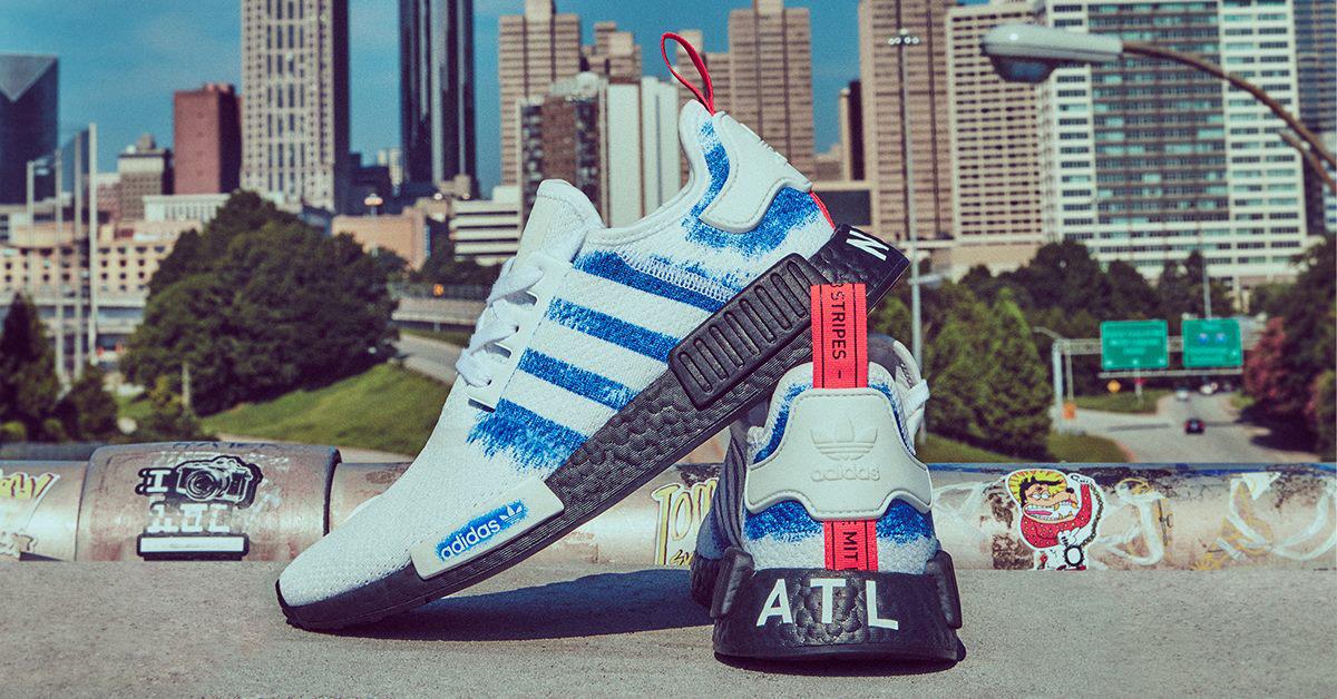 "best loved 5b06a 27f16 adidas Originals NMD R1 Stencil ""ATL"""