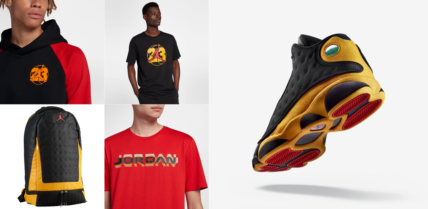 premium selection c8605 419e5 Air Jordan 13 Melo Class of 2002 Clothing | SneakerFits.com