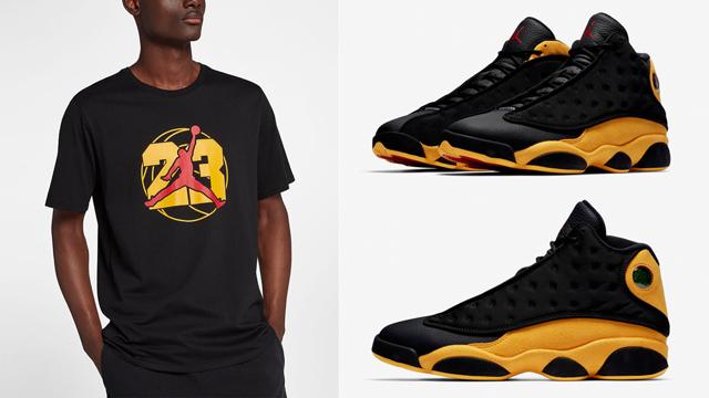 """22bef23805cb Air Jordan 13 """"Melo Class of 2002"""" x Jordan Retro 13 Jumpman T-Shirt"""