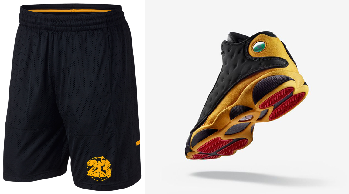 competitive price 35fbb 07d5b Air Jordan 13 Melo Shorts | SneakerFits.com