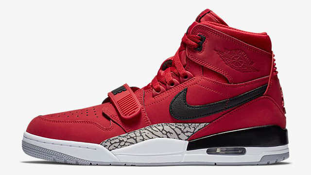 02a3b579fea Don C x Jordan Legacy 312. air-jordan-312-varsity-red-available-now