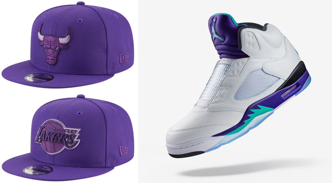 air-jordan-5-fresh-prince-snapback-hat-match