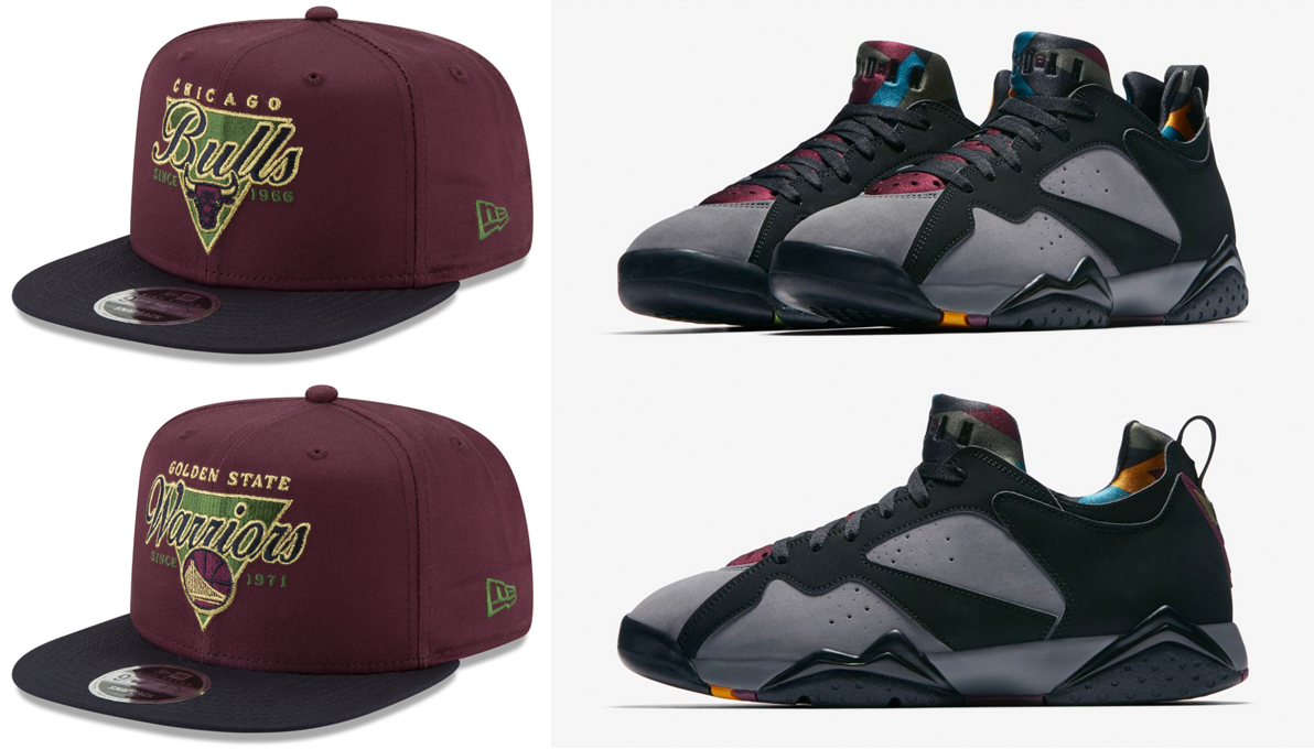 55d59bfd50776a ... reduced air jordan 7 low bordeaux hat match b0c99 e88d5