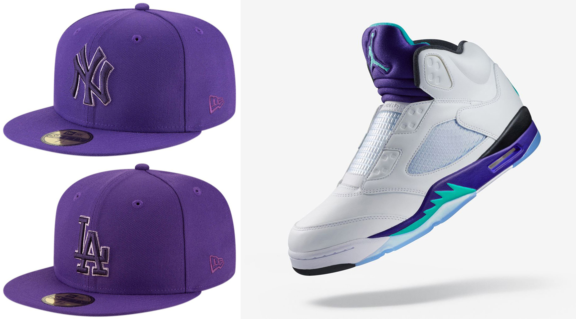 fresh-prince-jordan-5-laceless-hats-to-match
