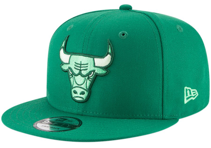 jordan-1-pine-green-snapback-hat-match-1