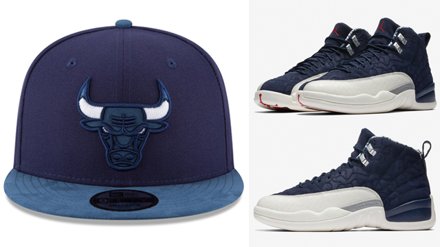 jordan-12-international-flight-bulls-snapback-cap