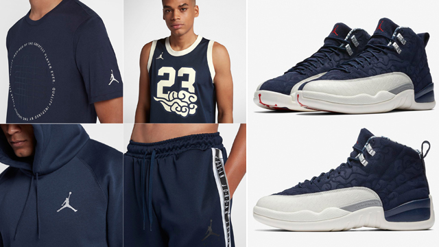 """ab2779eab46 Release Roundup: The Best Clothing, Caps and Gear to Match the Air Jordan 12  """"International Flight"""""""