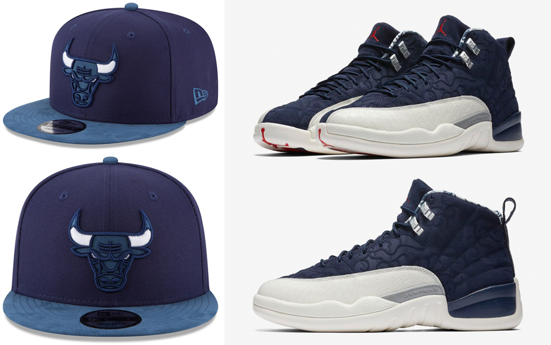 jordan-12-international-flight-navy-bulls-snapback-cap