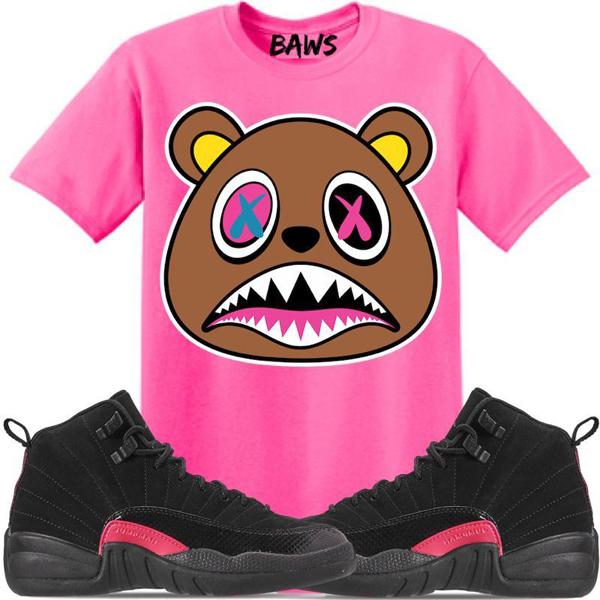jordan-12-rush-pink-sneaker-tee-shirt-4