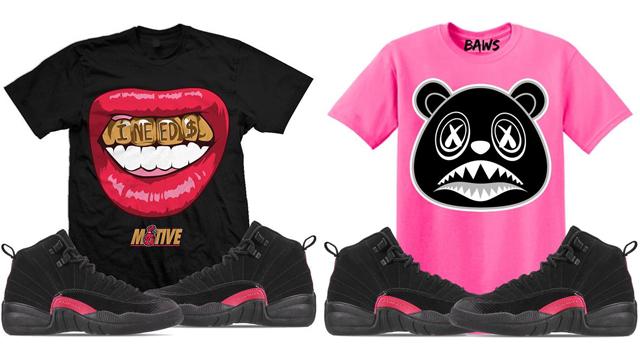 jordan-12-rush-pink-sneaker-tees