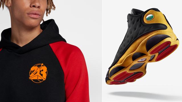 "f6f8cd266669 Air Jordan 13 ""Melo Class of 2002"" x Jordan Retro 13 Jumpman Fleece  Pullover Hoodie"
