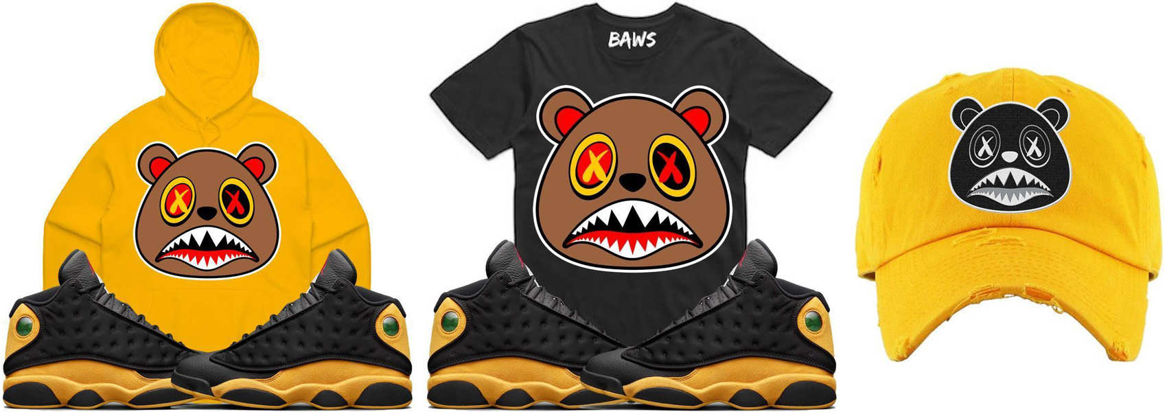 "f0a410255f0d4f Air Jordan 13 Melo ""Class of 2002"" x BAWS Sneaker Shirts"