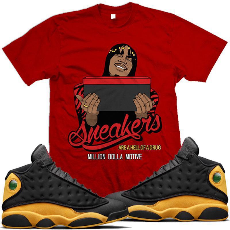 jordan-13-melo-oak-hill-sneaker-tee-shirt-million-dolla-motive-5